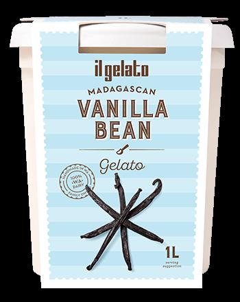 Creamy vanilla bean